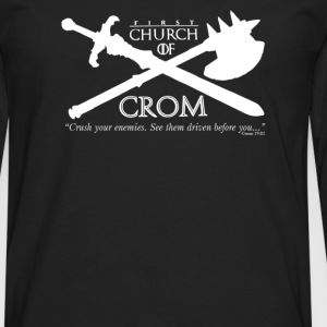 Church of Crom - Men's Premium Long Sleeve T-Shirt