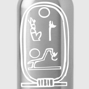 Egyptian Hieroglyph Ancient - Water Bottle