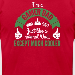 I'm A Gamer Dad Cooler - Men's T-Shirt by American Apparel