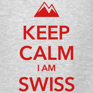 KEEP CALM I AM SWISS - Men's T-Shirt