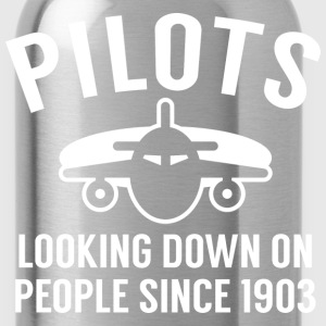Pilots Looking Down - Water Bottle