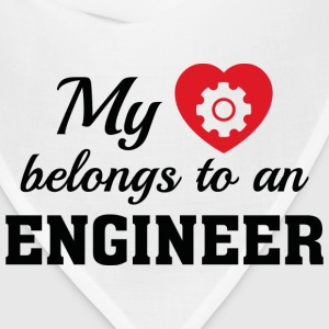 Heart Belongs Engineer - Bandana