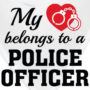 Heart Belongs Police Officer - Bandana