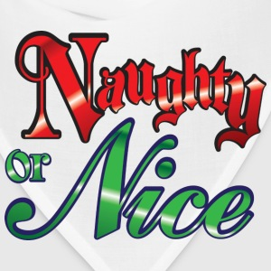 Naughty or Nice T-Shirts - Bandana