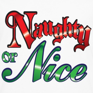 Naughty or Nice T-Shirts - Men's Premium Long Sleeve T-Shirt