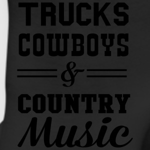 Trucks Cowboys and Country Music T-Shirts - Leggings