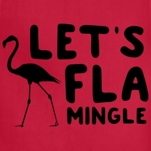 Let's Flamingle T-Shirts - Adjustable Apron