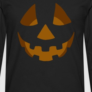 Happy Pumpkin Belly - Men's Premium Long Sleeve T-Shirt