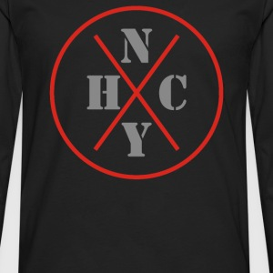 New York Hardcore - Men's Premium Long Sleeve T-Shirt
