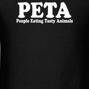 People Eating Tasty Animals - Men's T-Shirt