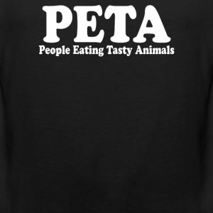 People Eating Tasty Animals - Men's Premium Tank