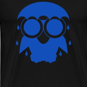 Owl In The Rain - Men's Premium T-Shirt