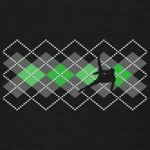 Argyle Gymnast - Boy's Sweater   - Men's T-Shirt