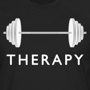 Gym Therapy / Weight Workout T-Shirts - Men's Premium Long Sleeve T-Shirt