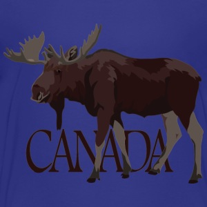 Kid's Canada Moose Hoodie Shirts Canada Souvenirs - Toddler Premium T-Shirt