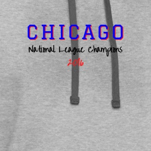 CHICAGO NATIONAL LEAGUE - Contrast Hoodie