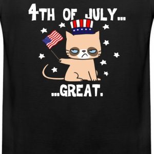 Grumpy Patriot - Men's Premium Tank