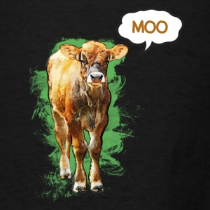 What the Cow Says - Men's T-Shirt