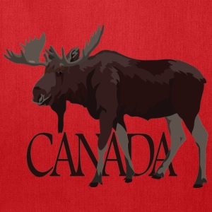 Canada Moose Souvenir T-Shirts Men's - Tote Bag