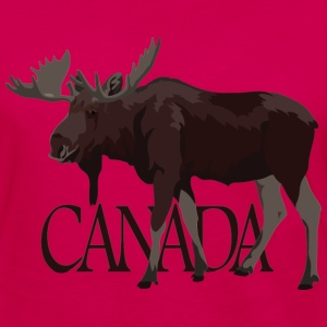 Canada Moose Souvenir T-Shirts Men's - Women's Premium Long Sleeve T-Shirt