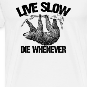 Live slow - Men's Premium T-Shirt