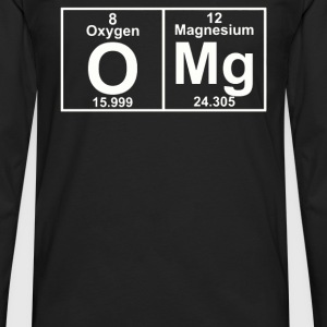 OMG Periodic Table - Men's Premium Long Sleeve T-Shirt