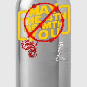 MAY THE 4TH BE WITH YOU - Water Bottle
