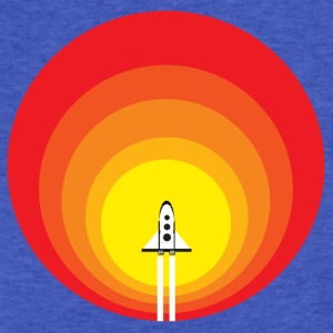 Rocket to the Sun - Fitted Cotton/Poly T-Shirt by Next Level
