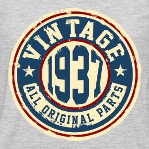 Vintage 1937 T-Shirts - Men's Premium Long Sleeve T-Shirt