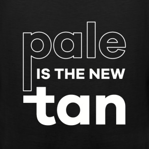 Pale is the new tan - Men's Premium Tank