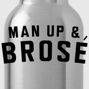 Man up and Brose T-Shirts - Water Bottle