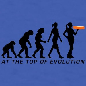 evolution_female_supplier_pizza_service_ Mugs & Drinkware - Men's T-Shirt