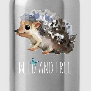 Wild and free - Water Bottle