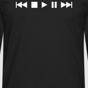 Play music style - Men's Premium Long Sleeve T-Shirt