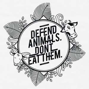 Defend Animals Mugs & Drinkware - Men's T-Shirt