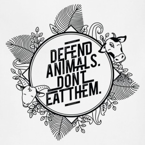 Defend Animals T-Shirts - Adjustable Apron