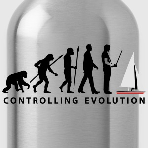 evolution_modelling_sailing_ship_10_2016 T-Shirts - Water Bottle