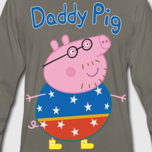 Daddy pig circus - Men's Premium Long Sleeve T-Shirt