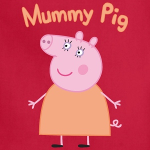 mummy pig - Adjustable Apron