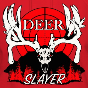 Deer slayer 2 red - Women's Hoodie