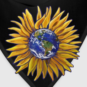 Sunflower Earth Tote - Bandana