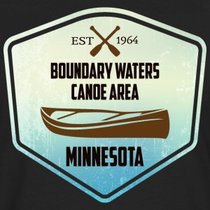 Canoe Minnesota Boundary Waters - Men's Premium Long Sleeve T-Shirt