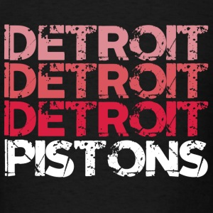 DETROIT PISTONS Long Sleeve Shirts - Men's T-Shirt