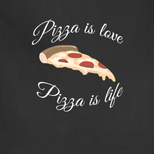 Pizza is Love Pizza T-Shirts - Adjustable Apron