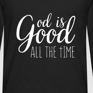 God is good all the time - Men's Premium Long Sleeve T-Shirt
