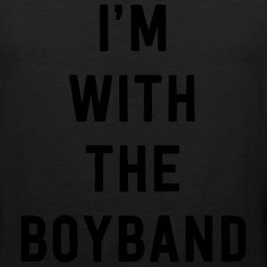 I'm with the boyband T-Shirts - Men's Premium Tank