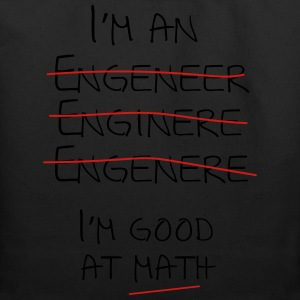 I'm an engineer spelling mistake. I'm good at math T-Shirts - Eco-Friendly Cotton Tote
