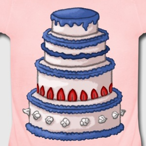 Cake Sweatshirts - Short Sleeve Baby Bodysuit