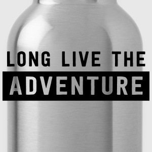 Long live the adventure T-Shirts - Water Bottle