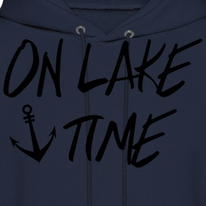 On Lake TIme T-Shirts - Men's Hoodie